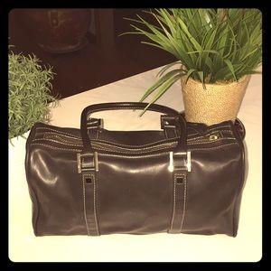 Jones New York Soft Brown Leather Satchel👜